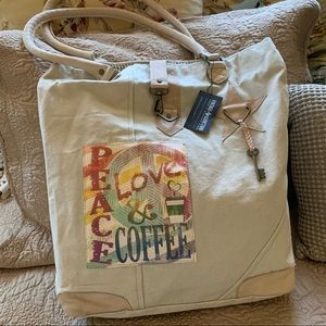 NWT Tote Handmade from recycled military tents